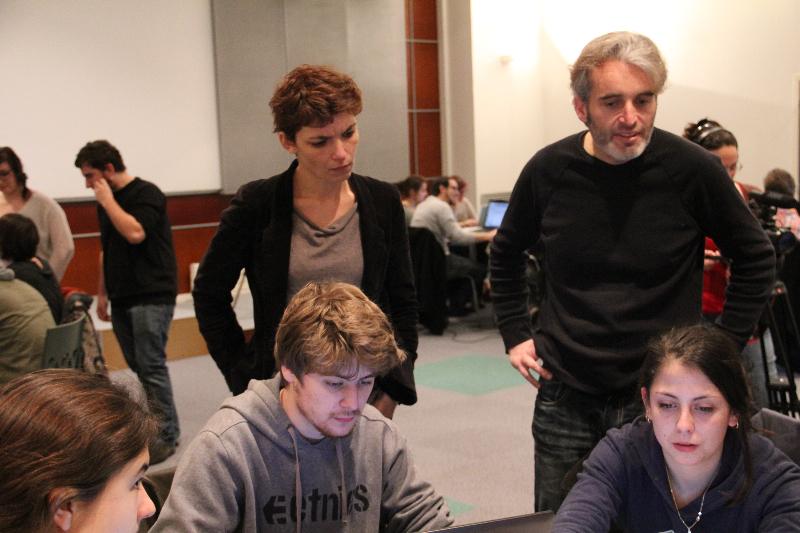 Atelier 3 - Julie Leblanc et Julien Kostrèche